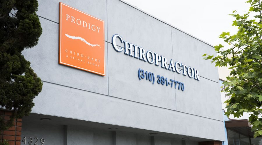 Prodigy Chiro Care & Spinal Rehab Culver City front sign