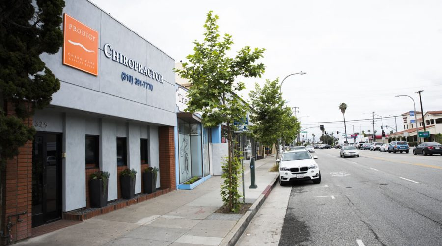 Prodigy Chiro Care & Spinal Rehab Culver City Outside front